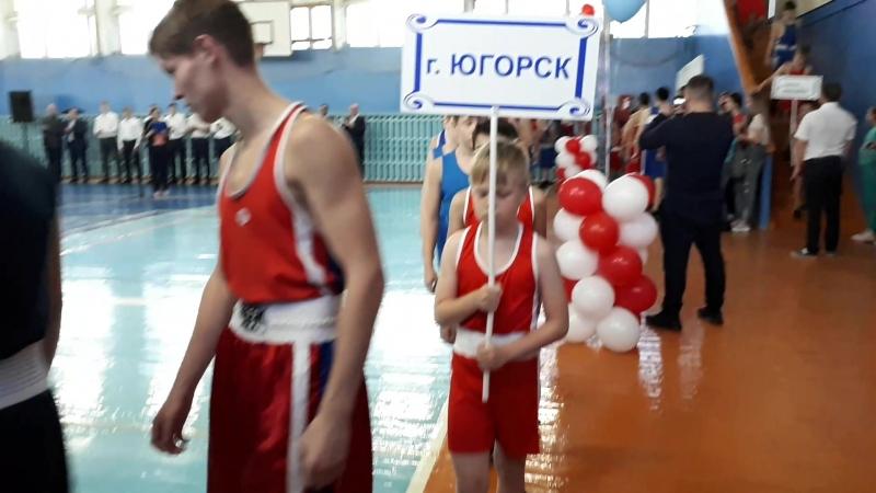 открытый региональный турнир Междуреченский