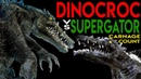 Dinocroc vs Supergator (2010) Carnage Count
