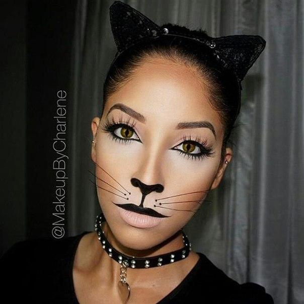 Фото макияжа как у кошки