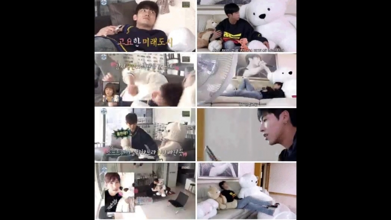 TVXQ and big white teddy bears 333 - - 동방신기 TVXQ! 東方神起 TOMORROW