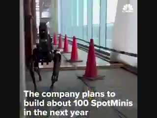 Meet Spot the autonomous robotic dog from Boston Dynamics