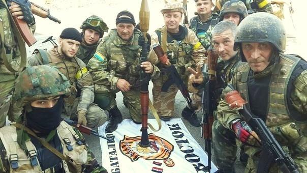 Бойцы АТО организовали более 30 опорных пунктов вокруг Донецка для сдерживания террористов, - СНБО - Цензор.НЕТ 9792