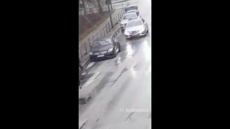 BonezMC пытается убежать от полиции