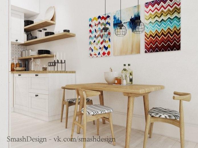 Замечательная квартира в скандинавском стиле