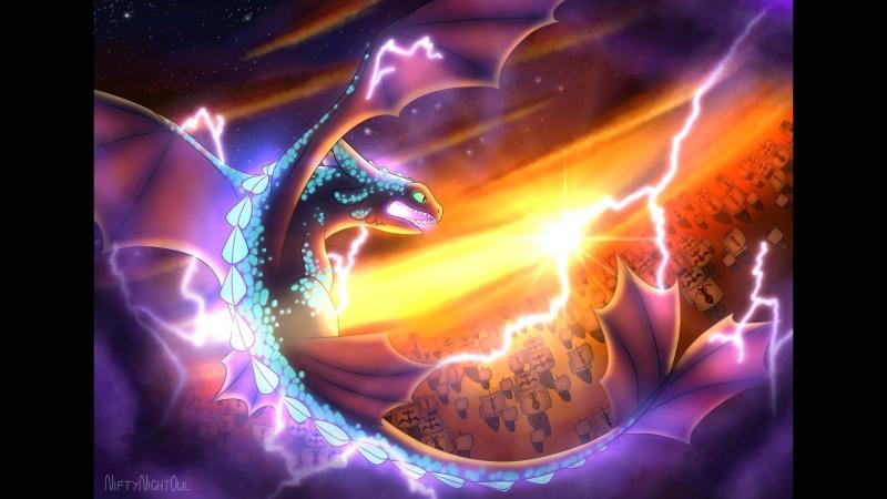 SPEEDPAINT_ How To Train Your Dragon The Hidden World ( 1080 X 1920 60fps )