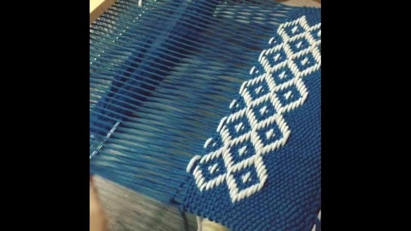 Brocade Weaving, ткачество парчи.