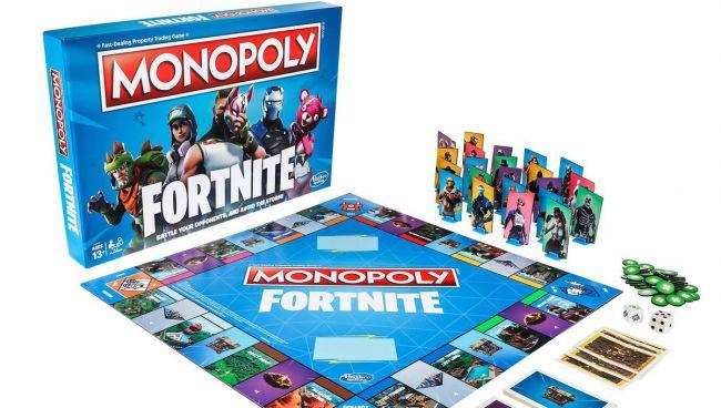 Монополия в стиле Fortnite