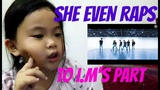 MONSTA X - SHINE FOREVER DANCE PRACTICE REACTION BY A 5 YEARS OLD MONBEBE