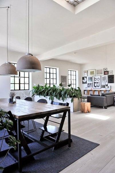 Интерьер квартиры в Копенгагене, Дания