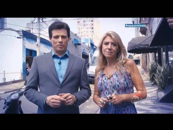 SBT Domingo Legal Os Paranormais Edu Scarfon é o melhor Paranormal do Brasil 21/12/2014