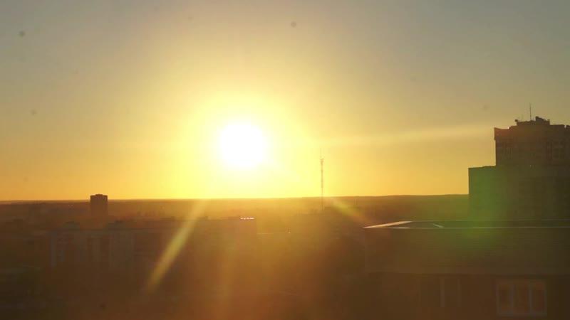 Time lapse - СОЛНЕЧНОГОРСК ЗАКАТ