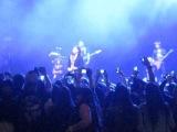NEON LIGHTS TOUR - Demi singing happy bday Julia - 25.04.14 - soundcheck