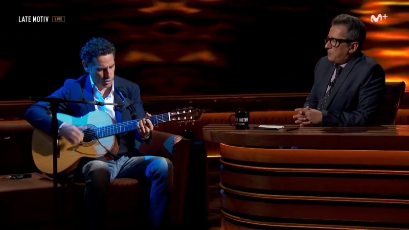 Cuando llora mi guitarra - Juan Diego Flórez. LateMotiv127 - trimmed