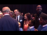Prince Charles meets Benedict Cumberbatch at his Children The Arts event - also present Si