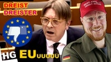 Neue EU-Propaganda EKEL-Opa will uns entDEUTSCHen