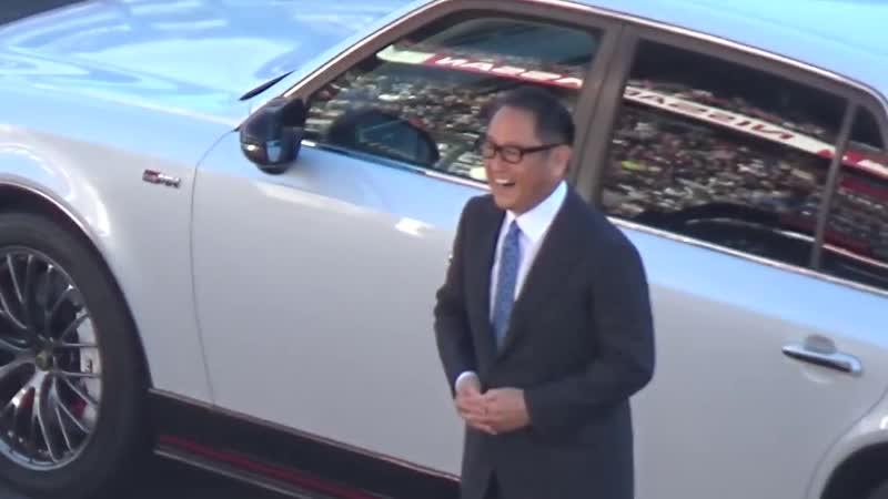 トヨタ・新型センチュリーGRMN豊田社長とお披露目、運転手はあの最速ドライバー!TGRF2018@Fuji
