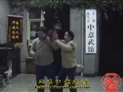 意拳锻炼 Yiquan training,09-01-04, pt 3-8, Free Hands