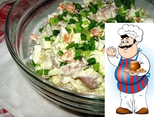 салат прибой просто и очень вкусно! ингредиенты: сельдь соленая хорошего качества картофель лук морковь яйца соль, перец, майонез приготовление: яйца, картофель и морковь отварить, почистить и