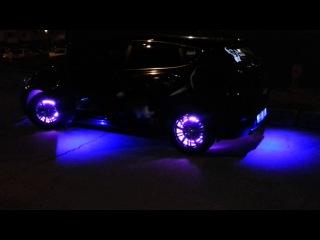 Подсветка дисков на Hyundai Solaris Hatchback Cosmik