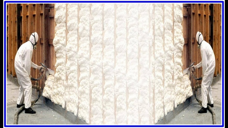 Installing Spray Foam Insulation by Isolmousse - DIY Crafts