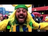 «RT — офигенна»: бразильский болельщик «повторил» мем про Россию