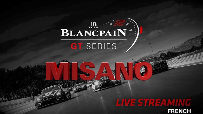 Race 1 - Misano - Blancpain GT Series 2018 - FRENCH