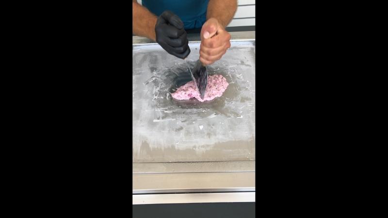 Сегодня жарилась не только я 😎, но и мое мороженое 🍧
