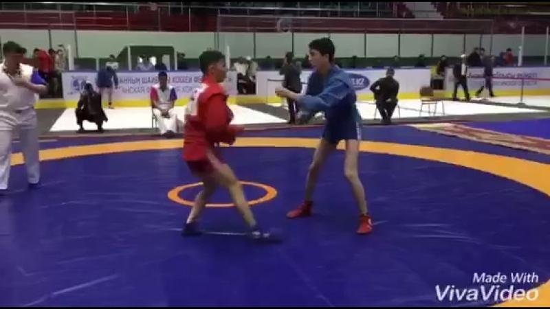 Областной турнир по самбо начался в Кокшетау