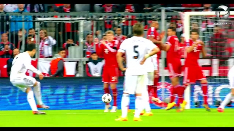 SLIZHENKOV l HD 10 Times Cristiano Ronaldo Humiliated The Great Players in Front of Whole Humanity