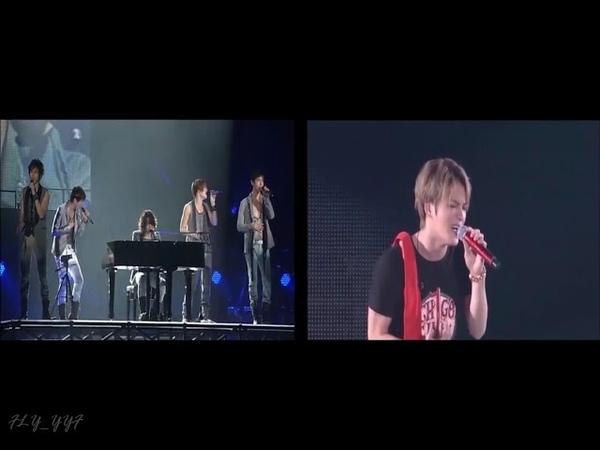 JYJ Tohoshinki sing tvxq song compilation
