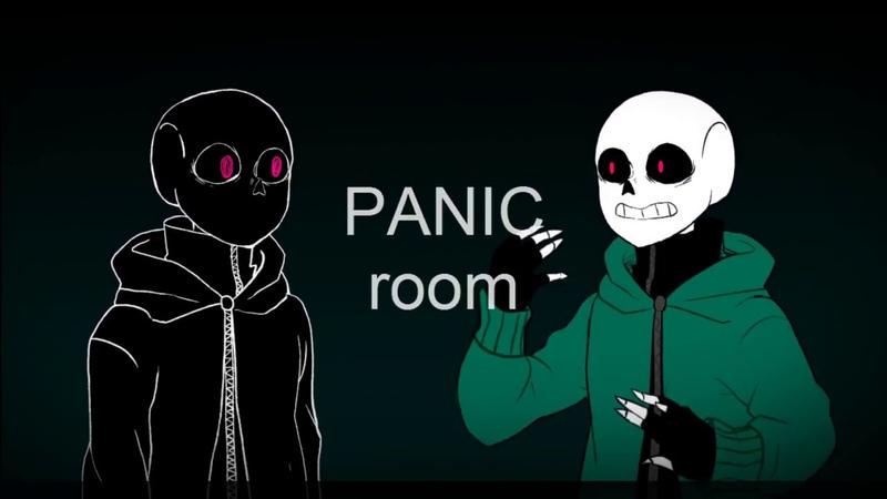 [Undertale au] Panic room meme