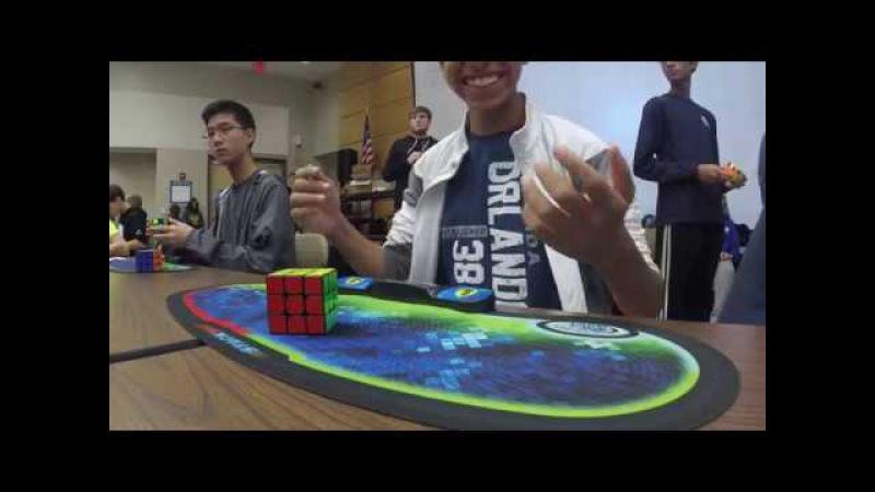 4 69 Rubik's Cube World Record Patrick Ponce