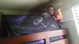 DREAM TENT Review Outer Space Universe &amp Winter Wonderland Twin Bunk Beds