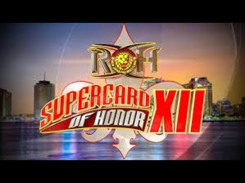 RoH Supercard of Honor XII:Silas Young vs Kenny King (Austin Aries saves Kenny King) Highlights