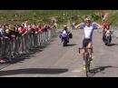 Ronde de l'Isard 2014 - arrivée de l'étape 1
