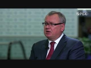Эксклюзивное интервью: глава ВТБ Андрей Костин