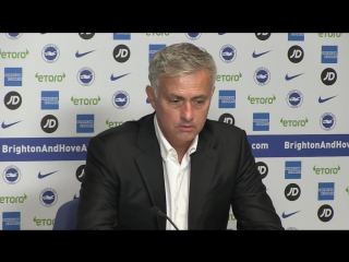 José Mourinho We were punished for our shocking mistakes - Brighton 3-2 Manchester United