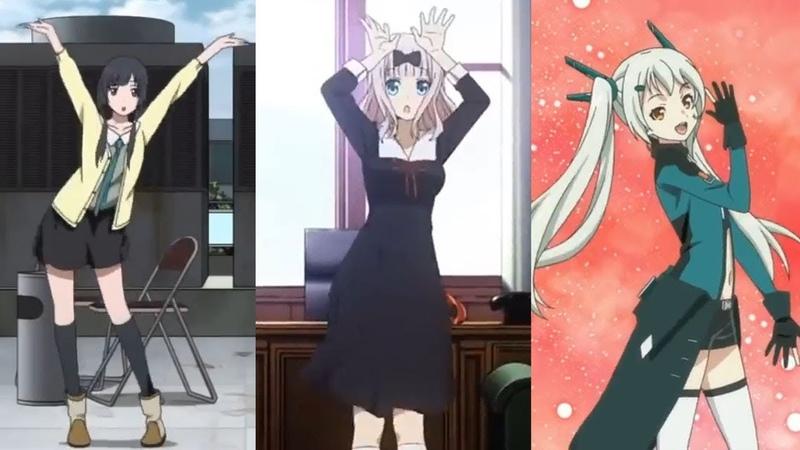 KAWAII Anime Dances That Can Cure Depression Part1