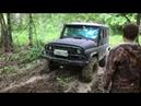 Гелик с колёсами от трактора по бездорожью