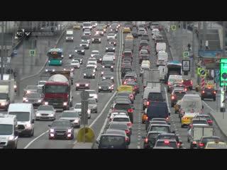 Из-за непогоды ожидаются крупные заторы на дорогах столицы