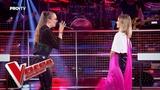 Maria vs Eva - Don't let me down Confruntarea 4 Vocea Romaniei 2018
