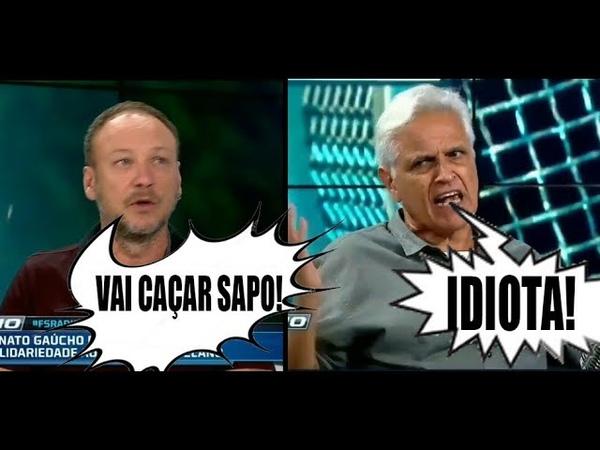 TRETA! Flávio Gomes e Sormani discutem feio durante o Fox Sports Rádio