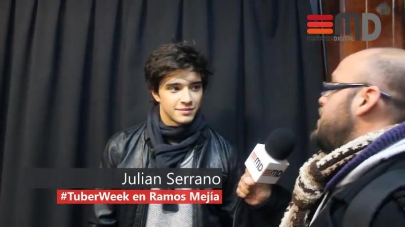 Julián Serrano en TuberWeek en Ramos Mejia