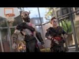 Реклама PS4 Pro и God of War на ютуб-канале Adult Swim