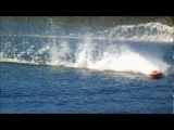 Awesome F/E RC Boats racing .Extreme high speed carbon hydros deep v monos