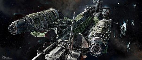 3D Модели Космических Кораблей