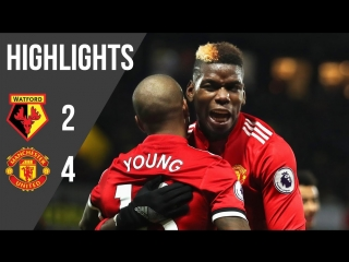 All of Manchester Uniteds 4 goals away to Watford last season. That Ashley Young free-kick was a peach. MUFC -