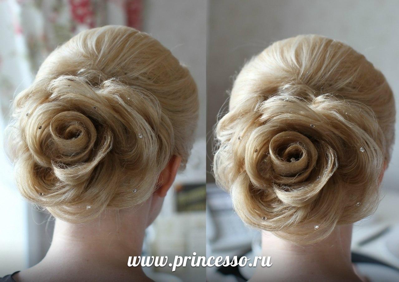 Цветы из волос фото виды