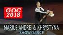 Marius-Andrei Balan Khrystyna Moshenska | Шоу 2 | 2018 Открытый Чемпионат Германии (GOC 2018)