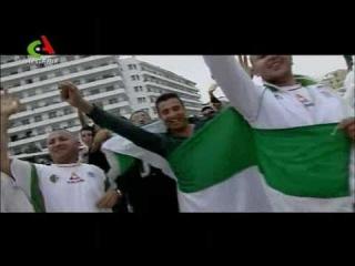 ALGERIE - ALLEZ LES VERTS - El Khadra N'mout Âalik - Hassiba AMROUCHE & Cheb TOUFIK